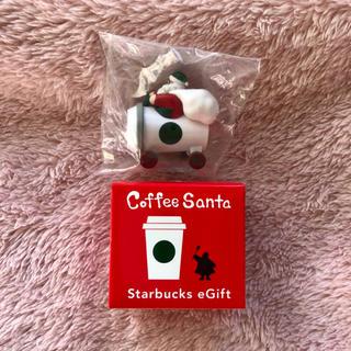 スターバックスコーヒー(Starbucks Coffee)の未開封 スタバ コーヒーサンタ 2018 車 サンタクロース(ノベルティグッズ)