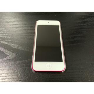 アイポッドタッチ(iPod touch)のiPod Touch 第6世代 32GB ピンク OS103.3 超美品(ポータブルプレーヤー)