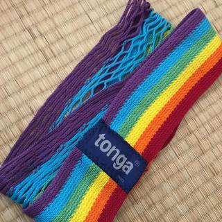 トンガ(tonga)のtonga 抱っこ紐(抱っこひも/おんぶひも)