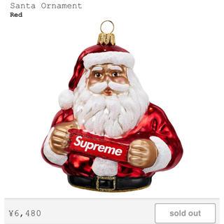 シュプリーム(Supreme)のSupreme サンタ オーナメント 送料混み(インテリア雑貨)