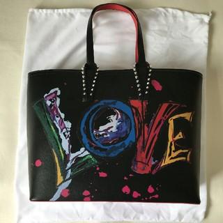 Christian Louboutin - 中古 ルブタン CHRISTIAN LOUBOUTIN トートバッグ #LOVE