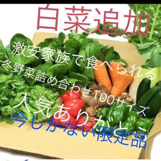 里芋追加値段そのまま、野菜詰め合わせ