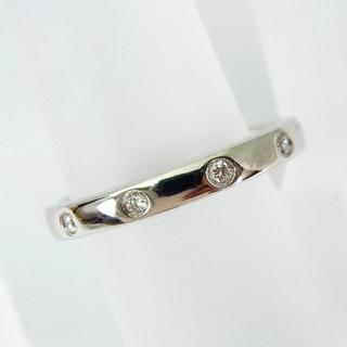 ヨンドシー(4℃)の4℃ PT950 ダイヤモンド リング 9号[f342-5](リング(指輪))