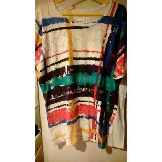 ノゾミイシグロ(NOZOMI ISHIGURO)のノゾミイシグロ  NOZOMIISHIGURO  カラフル Tシャツ 日本製(Tシャツ/カットソー(半袖/袖なし))