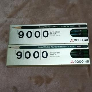 ミツビシエンピツ(三菱鉛筆)の三菱鉛筆   4B   9000    2ダース(鉛筆)