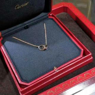 カルティエ(Cartier)の cartier カルティエ ベビーラブ ネックレス(ネックレス)
