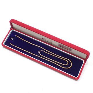 ジュエリーマキ(ジュエリーマキ)のE156  美品 ジュエリーマキ K18 ネックレス&ブレスレット 17.2g(ネックレス)