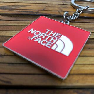 ザノースフェイス(THE NORTH FACE)の入手困難!非売品 ノースフェイス ロゴ キーホルダー(登山用品)