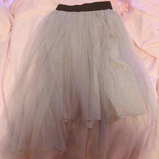 アロー(ARROW)のARROW チュールスカート(ひざ丈スカート)