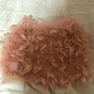 ニーナミュウ(Nina mew)のターキーフェザースカート (ミニスカート)