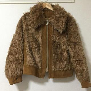 エディットフォールル(EDIT.FOR LULU)の売り切り最終値下げ古着屋購入 エコファー ジャケット ブルゾン(ブルゾン)