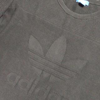 アディダス(adidas)のadidas アディダス ニット セーター OTサイズ XL ブラック(ニット/セーター)