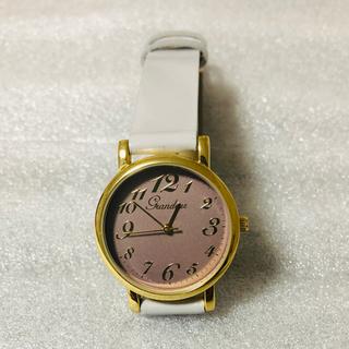 グランドール(GRANDEUR)の値下げ❗️GRANDEURグランドール レディス腕時計 購入価格約一万新品未使用(腕時計)