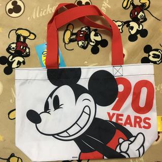ディズニー(Disney)のミッキー 90thデザイン ランチトートバッグ(トートバッグ)