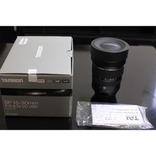 タムロン(TAMRON)のSP 15-30mm F/2.8 Di VC USD(レンズ(ズーム))