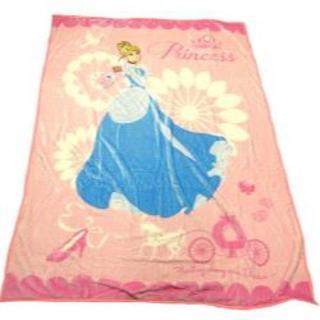 ディズニー(Disney)の新品ディズニー プリンセス シングル毛布 シンデレラ (毛布)