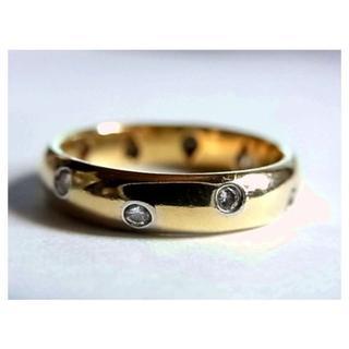 ティファニー(Tiffany & Co.)のティファニー ダイヤK18pt950リング指輪12号750プラチナ ドッツ(リング(指輪))