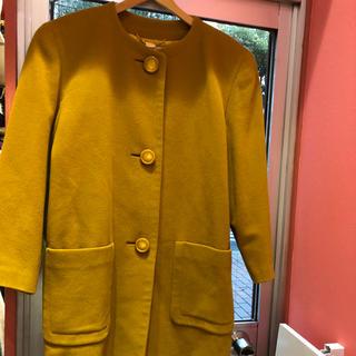 コルディア(CORDIER)の CORDIER   ロングコート    42  日本サイズLL   キャメル色(ロングコート)