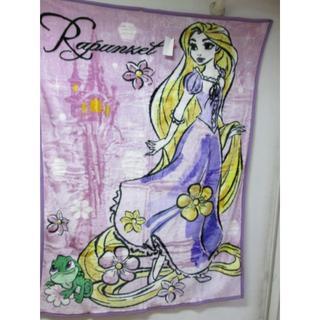 ディズニー(Disney)の新品ディズニー プリンセス シングル 毛布 ラプンツェル(毛布)
