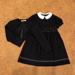 ファミリア(familiar)のファミリア セットアップ 110 お受験 お教室 フォーマル 入学式(ドレス/フォーマル)