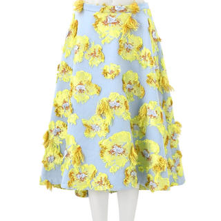 チェスティ(Chesty)のchesty ミスアドラ スカート0サイズ 新品(ひざ丈スカート)