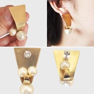 アッシュペーフランス(H.P.FRANCE)のmion jewelry  shizuku イヤリング(イヤリング)