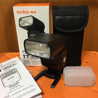 フジフイルム(富士フイルム)の富士フイルム用 GODOX TT350F フラッシュ(ストロボ/照明)