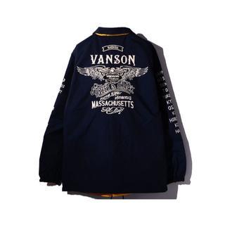 バンソン(VANSON)のVANSON バンソン リバーシブル コーチジャケット XXL(ナイロンジャケット)
