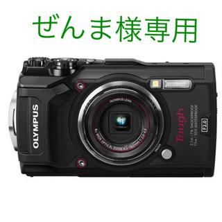 オリンパス(OLYMPUS)のぜんま様専用。オリンパスTG-5 ブラック 新品、未使用、未開封品(コンパクトデジタルカメラ)