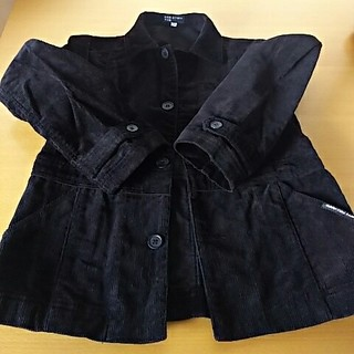 クミキョク(kumikyoku(組曲))の組曲 ジャケット 黒色130(ジャケット/上着)