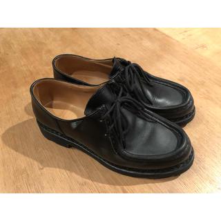 パラブーツ(Paraboot)のパラブーツ ミカエル 黒 サイズ4 (23.5〜24.0)(ローファー/革靴)