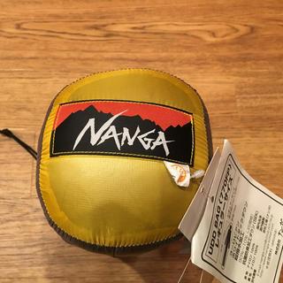 新品 NANGA ナンガ UDD 280DX イエロー
