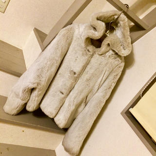 マックスマーラ(Max Mara)のコート フェイクファー SPORTMAX(毛皮/ファーコート)