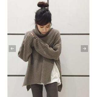 アパルトモンドゥーズィエムクラス(L'Appartement DEUXIEME CLASSE)のAP STUDIO  Rib Side Slit Knit  (ニット/セーター)