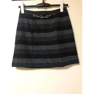 アンタイトル(UNTITLED)のアンタイトル可愛いスカート日本製(ひざ丈スカート)
