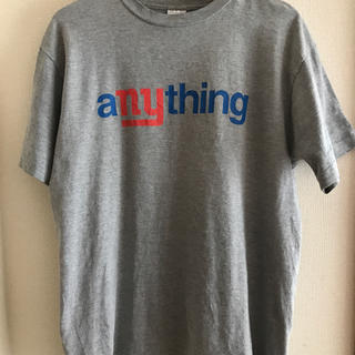 エニシング(aNYthing)のanything Tシャツ(Supremeにて購入)(Tシャツ/カットソー(半袖/袖なし))