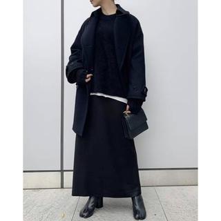 アパルトモンドゥーズィエムクラス(L'Appartement DEUXIEME CLASSE)のAP STUDIO I line スカート ブラック 38 ドゥーズィエムクラス(ロングスカート)