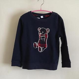 グラニフ(Design Tshirts Store graniph)の【graniph】グラニフ トレーナー クマ 110cm(ニット)