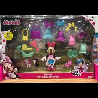 ディズニー(Disney)のDISNEY  フィッシャープライス ミニーのペットファッションショー(知育玩具)