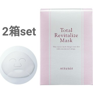 アテニア(Attenir)のアテニア トータルリヴァイタライズ マスク 6枚入り×2箱(パック / フェイスマスク)