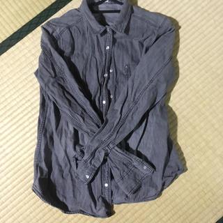 ジーユー(GU)のgu グレーシャツ(シャツ/ブラウス(長袖/七分))