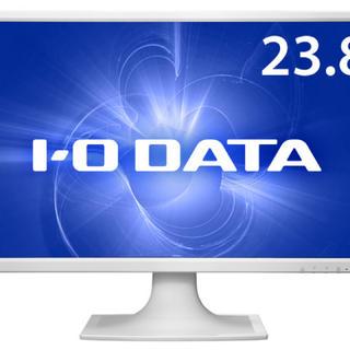 アイオーデータ(IODATA)のIODATA 液晶ディスプレイ 23.8インチ ホワイト(ディスプレイ)