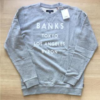 新品 m banks バンクス    トレーナー(スウェット)