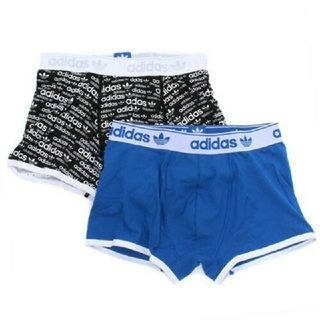アディダス(adidas)の新品 adidas XS スリムボクサーパンツ 2枚(ボクサーパンツ)