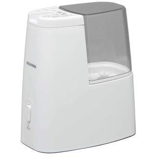 アイリスオーヤマ(アイリスオーヤマ)のアイリスオーヤマ 加熱式加湿器 タンク容量1ℓ クリア アロマトレー付き(加湿器/除湿機)