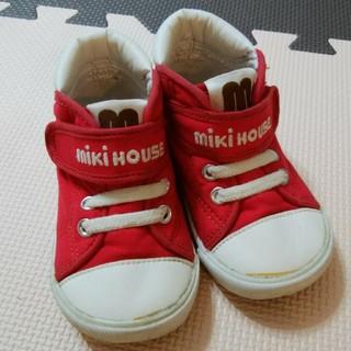 ミキハウス(mikihouse)のミキハウス 靴 14.0cm(スニーカー)