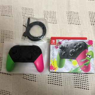 ニンテンドースイッチ(Nintendo Switch)のスプラトゥーン2  プロコントローラー(その他)