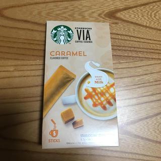 スターバックスコーヒー(Starbucks Coffee)のスターバックス ヴィア コーヒーエッセンス キャラメル(コーヒー)