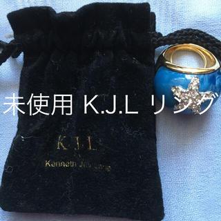 ケネスジェイレーン(Kenneth Jay Lane)の未使用 K JLリング(リング(指輪))