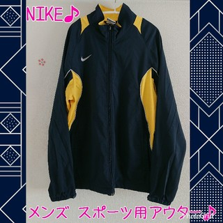ナイキ(NIKE)のNIKE ナイキ ジャージ ウォームアップジャケット ウインドブレーカー M(ナイロンジャケット)